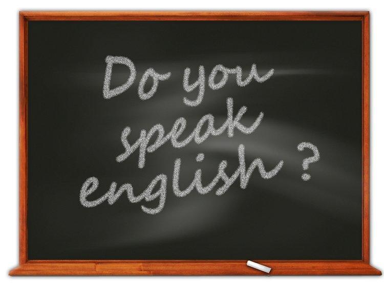 Parler l'anglais