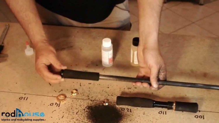 Fabrication et montage de canne à pêche sur mesure